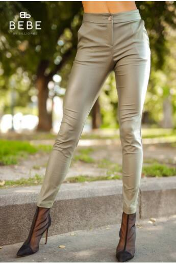 Lina khaki nadrág - m - Billionbe by BEBE