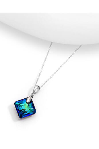 Zöldes kék Swarovski medál