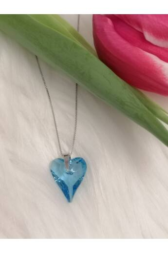 világoskék-szív-alakú-swarovski-kristályos-ezüst-nyaklánc