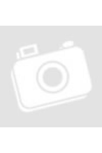 Swarovski kristályos ezüst gyűrű (18 mm) - silver night