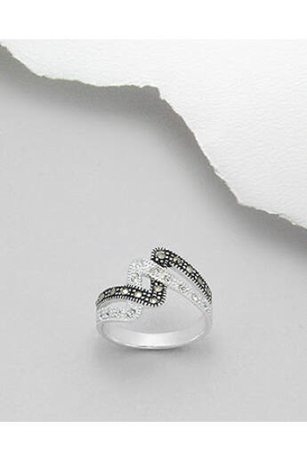 markazit-ékköves-ezüst-gyűrű