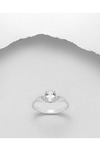 szintetikus-gyémánttal-díszített-ezüst-gyűrű