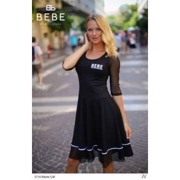 Fekete necchálós ruha - Billionbe by BEBE