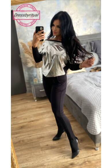 bianca-ezüst-fekete-overall-dressbyritual