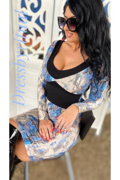 bluelagoon-kek-kigyos-csinos-ruha-dressbyritaul