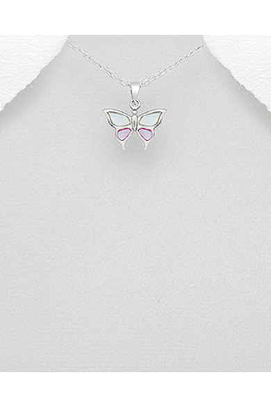 selyemfényű-rózsaszín-kicsi-pillangó-ezüst-medál
