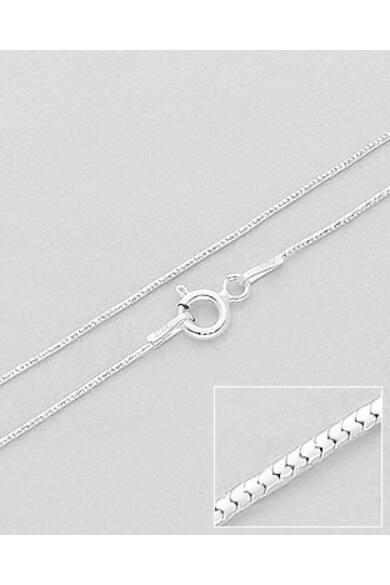 ezüst-nyaklánc